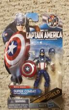 "Captain America The 1st Avenger 3.75"" Super Combat Movie Series Action Figure"