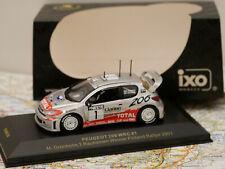 IXO PEUGEOT 206 WRC#1 M.GRONHOLM/T.RAUTAINEN WINNER FINLAND RALLY 2001 1:43 NEW
