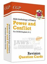 New 9-1 GCSE English: AQA Power & Conflict Poetry Anthology - Revision Questions