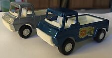 Vintage Tootsietoy Lot Of 2 Pick Up Trucks Dated 1969 Pickup
