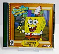 SpongeBob Squarepants: Employee of the Month PC CD-ROM Game Complete