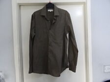 MEN'S REISS POCKETS DETAILS GREY LONG SLEEVE SHIRT SZ M GREAT CONDITION