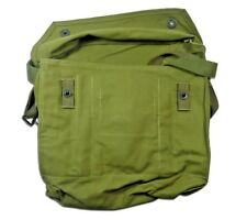 Finnish Gas Mask Canvas Field Bag Hiking Backpacking Mag Ammo Military Pack New
