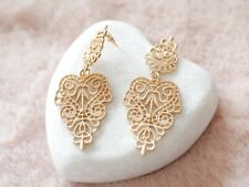 Chantilly Lace Statement Chandelier Earrings Stella & Dot Inspired In Gift bag