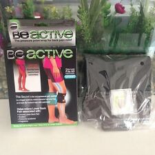 Black Beactive Pressure Brace Point Pad Leg Pain Acupressure Sciatic Nerve JJ