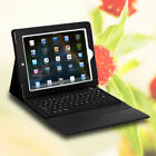 Black Wireless Bluetooth Keyboard and PU Leather Case for New iPad 3 2 1
