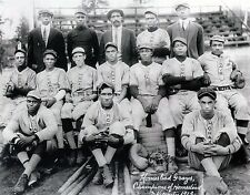 1913 HOMESTEAD GRAYS 8X10 TEAM PHOTO BASEBALL PICTURE NEGRO LEAGUE