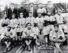 1913 HOMESTEAD GRAYS 8X10 TEAM PHOTO BASEBALL PICTURE NEGRO LEAGUE