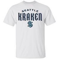 Men's Seattle Kraken 2020 Classic Fit Short Sleeve T-Shirt For Fan S-5XL