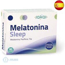 Sakai - Melatonina Sleep, 60 comprimidos masticables. Conciliación rápida del S