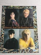 Tour Programme Siouxsie & the Banshees 1981 JuJu tour-