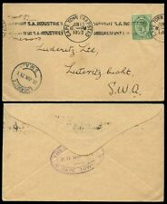 Machine Cancel South African Stamps (Pre-1961)