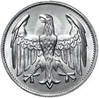 Deutsches Reich - Münze - 3 Mark 1922 A - OHNE UMSCHRIFT - Stempelglanz UNC
