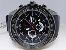 Mens Techno Com KC Joe Rodeo Master Genuine Black WWBL Diamond Watch 2.7 Ct