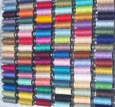 60 SEWING ALL PURPOSE 100% Pure COTTON THREAD 60 Different Colours