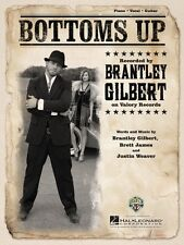 Bottoms Up Sheet Music Piano Vocal Brantley Gilbert NEW 000126970