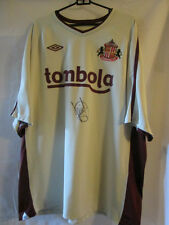 Paolo Di Canio Signed Sunderland Away Football Shirt with COA /20652