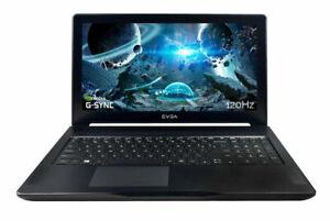 "Used EVGA SC15 1060 NVIDIA, i7-7700HQ 15.6"" 120Hz Gaming Laptop RGB Keyboard"