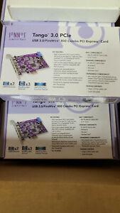 New Sonnet Allegro Tango 3.0 USB 3.0 + FireWire 800 PCI Express Card fw8usb3-e