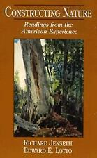 Constructing Nature: Readings from the American Experience Brand New Paperback