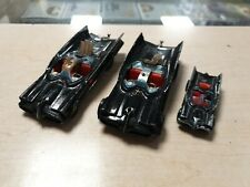 Vintage Corgi Batmobile X 3