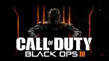 Call Of Duty Black Ops III 3 PC STEAM GAME Digital Download Code (no disc)