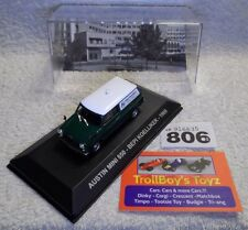 Lot 806. IXO/Altaya/ Deagostini 1/43. Austin Mini 850 Van. NEW With Display Case