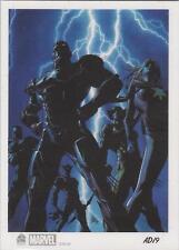 "Marvel Universe 2014 -  AD19 Artist Draft ""Dark Avengers #1"" Rewards Card"