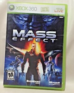 RARE Mass Effect - Xbox 360 Game - Complete & Tested Includes Books and Artwork