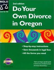 Do Your Own Divorce in Oregon by Smith, Robin