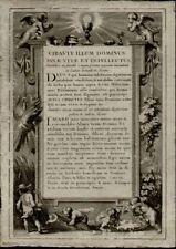 Gravure du XIXe siècle et avant baroques en histoire, guerre