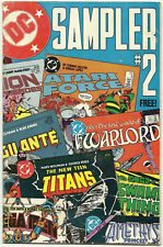 DC Sampler #2 VG Sep 1984 New Teen Titans Batman and Outsiders Swamp Thing