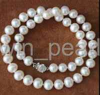 AAAA 8-9mm White South Akoya Sea Pearl Necklace 18''