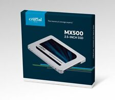 "Crucial MX500 CT500MX500SSD1 500 GB RETAIL BOXED SATA 2.5"" SSD FREE P+P! 10 left"