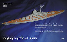 Schlachtschiff YORCK  1938      1/700 Bird Models  Resinbausatz / resin kit