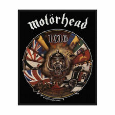 MOTORHEAD 1916 Woven Sew On Patch Official Licensed Band Merch Lemmy