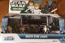 Star Wars Playskool Heroes Jedi Force Death Star Escape Set New
