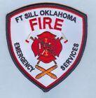 US ARMY - FORT SILL, OK FIRE & EMERGENCY SERVICES PATCH ... NICE!