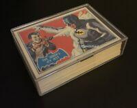 1966 Batman Topps Re-Issue Blue Bat Set! 1989