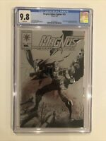 Magnus Robot Fighter #25 CGC 9.8 embossed silver foil cover CLASSIC