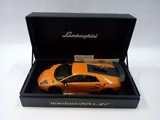 LAMBORGHINI MURCIELAGO - LP670-4 SV - Orange - MR Collection 1/18..