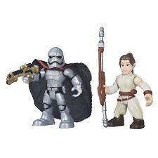 Star Wars Galaxy Heroes Rey (Jakku) & Captain Phasma Figures