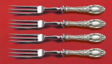 """King Richard by Towle Sterling Silver Fruit Fork Set 4-Piece Custom Made 6"""" HHWS"""