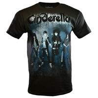 CINDERELLA Mens Tee T Shirt 80s Rock Band Music Concert Tour Live Metal NEW