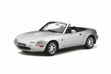 1990 Mazda MX-5 Silverstone Silver 1:18 Scale Resin Series Otto Mobile OT321