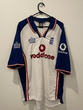 New listing Admiral England Cricket Jersey Vintage Vodafone Embroidered Size XL - RARE