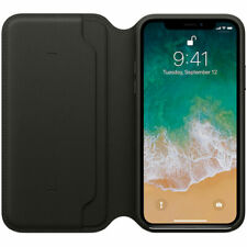 CUSTODIA ORIGINALE APPLE FOLIO IPHONE X  MQRV2ZM/A NERO BLACK