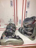 Nordica Beast W10 Warm-fit Downhill Ski Boots PFP 23.0-23.5 Size 6-6.5 Women