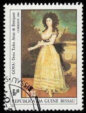 """GUINEA BISSAU 554 (Mi758) - ESPANA '84 """"Dona de Enriquez"""" (pf70611)"""