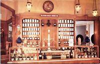 1960s Disneyland Upjohn Pharmacy Counter Souvenir  Postcard BG